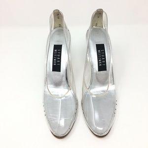 Stuart Weitzman Shoes - Stuart Weitzman Clear Cinderella Pumps Heels